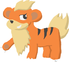 Heather the Growlithe by ThePuddleCat