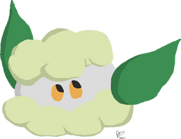 Cotton the Cottonee by ThePuddleCat
