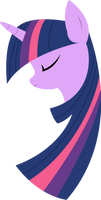 Minimal Twilight Sparkle by xPesifeindx