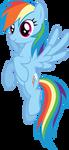 Rainbow Dash 2 by xPesifeindx