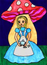 Alice in Wonderland by SavvyRed