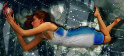 Falling into Wonderland by SavvyRed