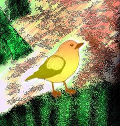 Yellow Bird by SavvyRed