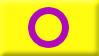 Intersex Pride Flag Stamp by SavvyRed