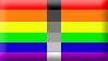 Homoflexible Pride Flag Stamp by SavvyRed