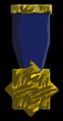 Medal (Black Background) by SavvyRed