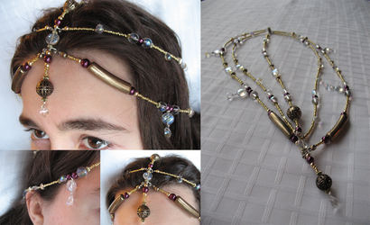 Headpiece 3: Renaissance style by sampdesigns