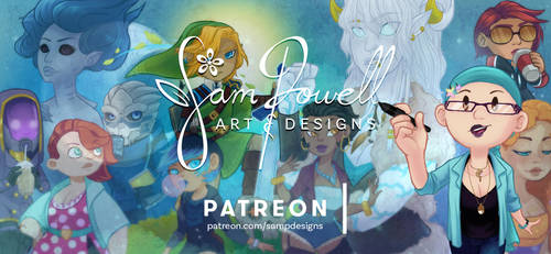 PATREON by sampdesigns