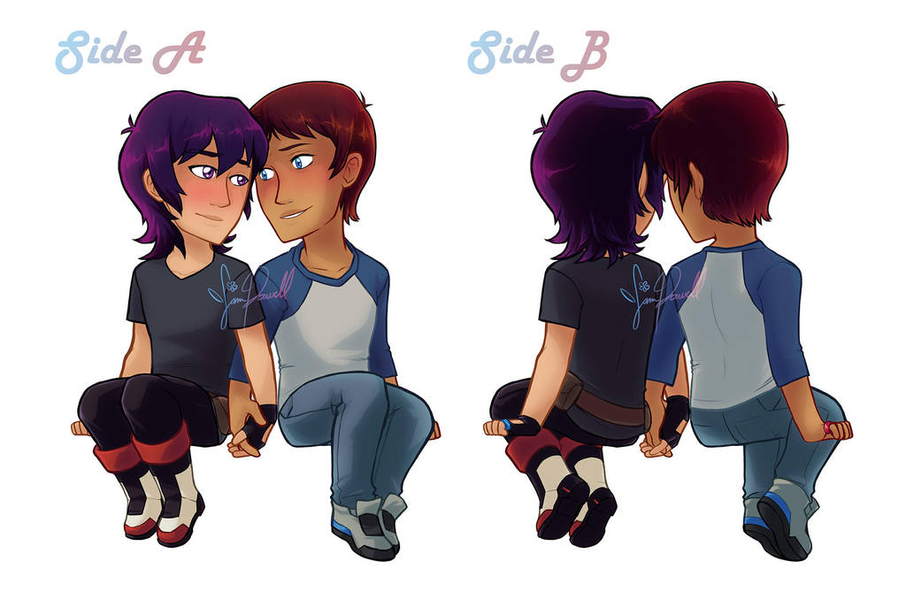 Double Sided Klance Acrylic Charm by sampdesigns