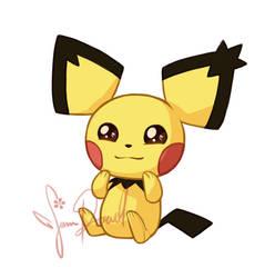 Pokemon: Pichu by sampdesigns