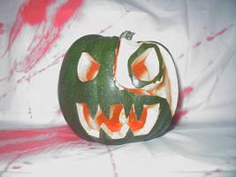 Evil Pumpkin Squash by InkTheEchidna