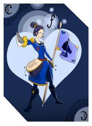 Uni - Carte Cavalier by Arinna1