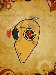 Steampunk Plague mask elite by IzotopeZ