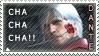 Dante with Rose Stamp by Ruumatsuku