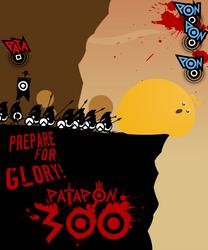 300 patapon 'take 2 by canecodesign