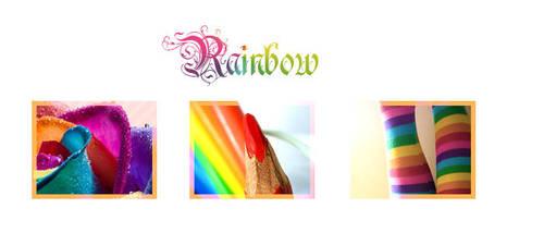 Rainbow x3 by Vio91