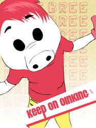 Keep on Oinking by Vio91