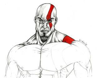 Kratos Wip by mikomod82