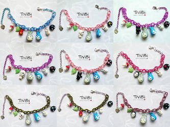 Limited Edition - Totoro bracelets by tivibi