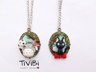 Studio Ghibli Fanart by tivibi