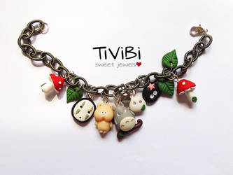 Studio Ghibli bracelet by tivibi