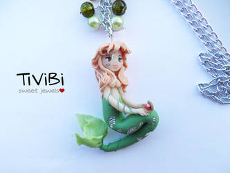 Mermaid Necklace by tivibi