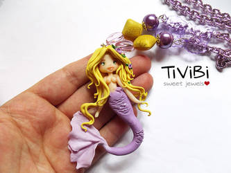 Rapunzel mermaid by tivibi