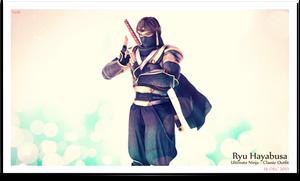 `~ Ryu Hayabusa : Classic Ultimate Ninja ~` by VeiradA