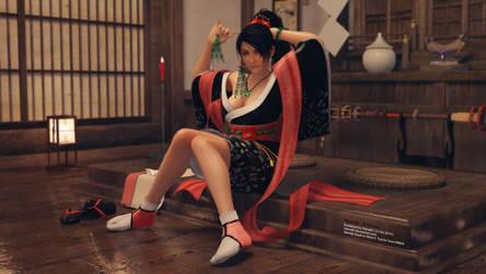 Momiji: Kitsune Outfit by VeiradA