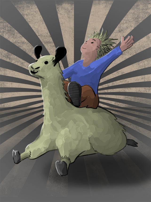 Llamamobile by joestrong