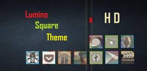 Lumino Square HD Nova Apex Go Theme by bagarwa