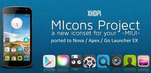 MIcons HD (Nova Apex Go Theme) by bagarwa
