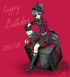 Happy :early: Birthday Yana 8D by madelezabeth