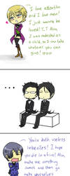 Reaction butlers by madelezabeth