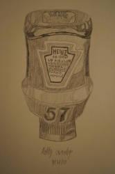 Sketch 36 Ketchup by AshleyWass