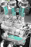 Sturgis Rally 2013 : Blue Engine by AshleyWass