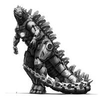 MFS 6, MechaGodzilla, Monsterverse inspired by eatalllot