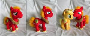 Plushie: Big Macintosh - My Little Pony: FiM by Serenity-Sama