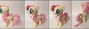 Plushie: Fluttershy v2: My Little Pony: FiM by Serenity-Sama