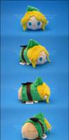 Stacking Plush: Mini Link by Serenity-Sama