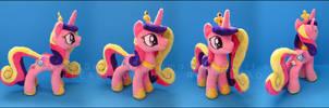 Plushie: Princess Cadence: MLP - FiM by Serenity-Sama