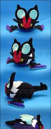 Stacking Plush: Small Noivern - Pokemon by Serenity-Sama
