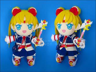 Plushie: Kingdom Hearts Sailor Moon by Serenity-Sama