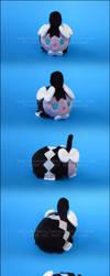 Stacking Plush: Mini Gothita by Serenity-Sama