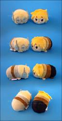 Stacking Plush: Mini Landay and Lyra by Serenity-Sama