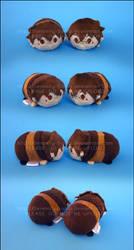Stacking Plush: Mini Wilgis and Verdel by Serenity-Sama