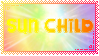 Sun Child Stamp by SmolUniverse