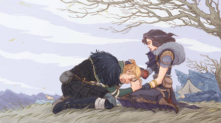 After Kirkwall- Not just a nightmare by Cocoz42