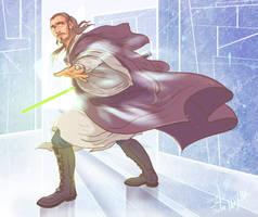 Master Qui-Gon Jinn by Cocoz42