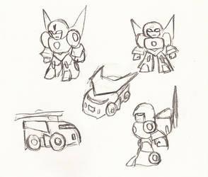 Minimus Ambus Sketch, Take 2 by Superrobofan